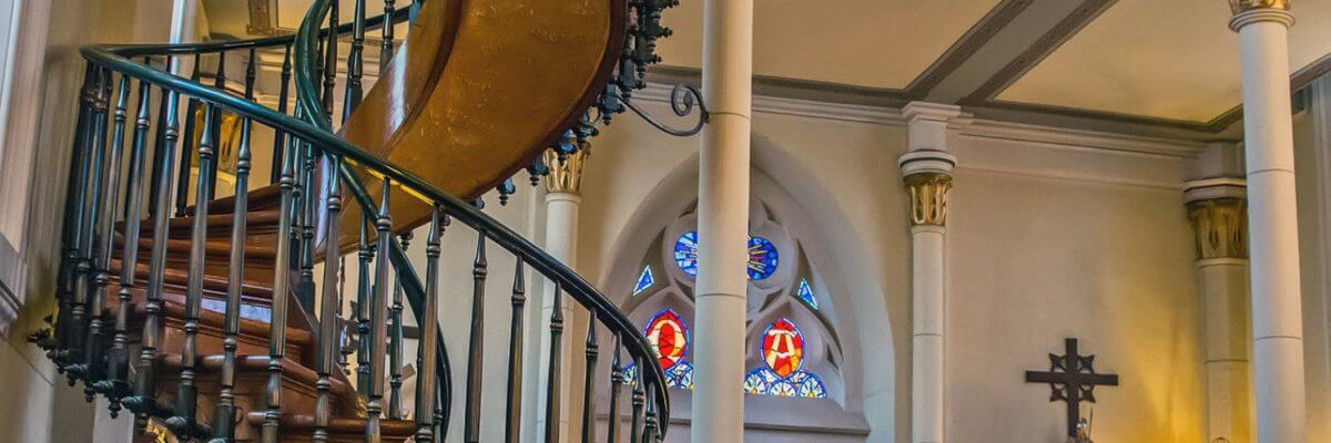 Miraculous Staircase in Loretto Chapel