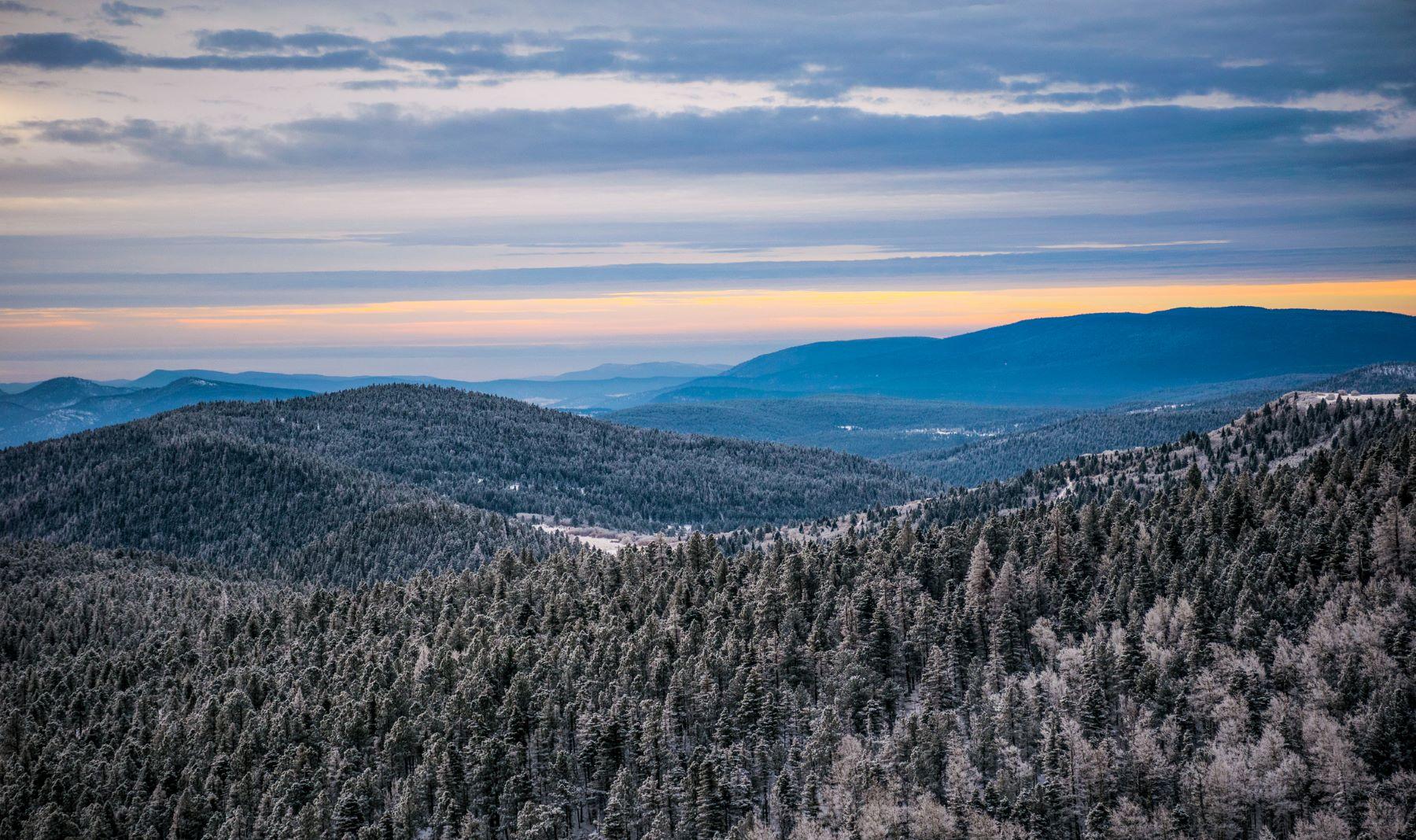 Winter in Santa Fe